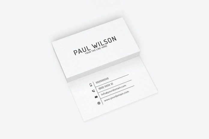 Free Simple Individual Business Card