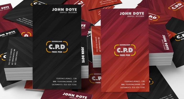 Bulk Business Card Psd Mockup, psd mockup, business card, visiting card, cpd, business card template