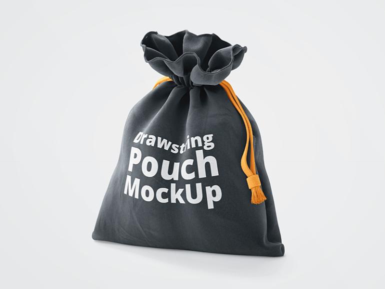 Cloth Pouch Mockup