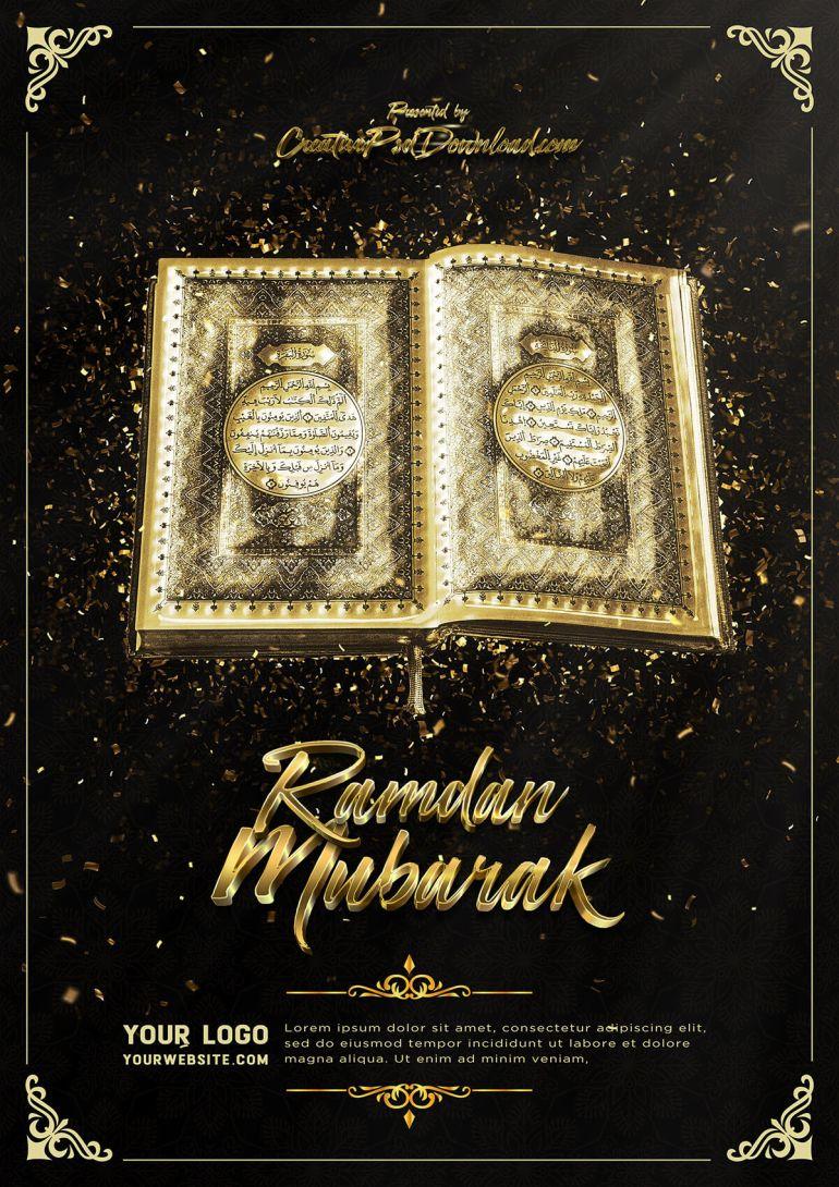 Ramdan Mubarak Flyer Psd