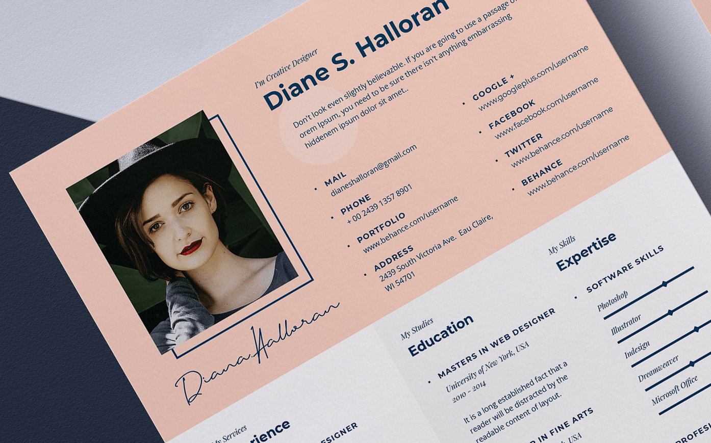 10 Modeles De Cv A Telecharger Gratuitement Creative Pub Marketing
