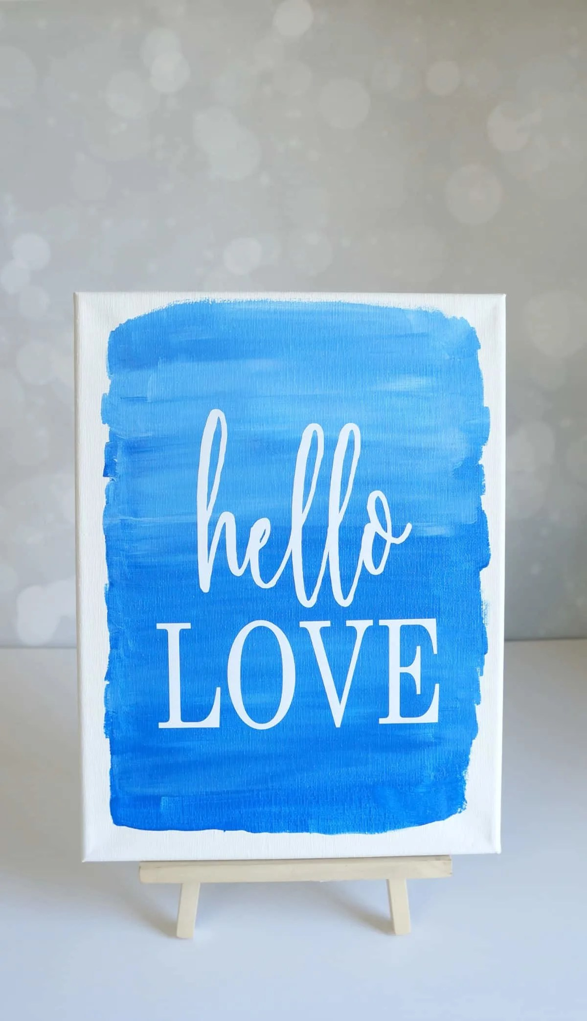 Ombre Canvas Painting Ideas : ombre, canvas, painting, ideas, Apply, Vinyl, Canvas, Creative, Ramblings