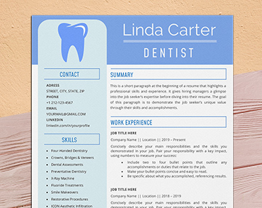 Read our report on diversity, equity. Dental Resume Templates For Microsoft Word Creativeresume Net