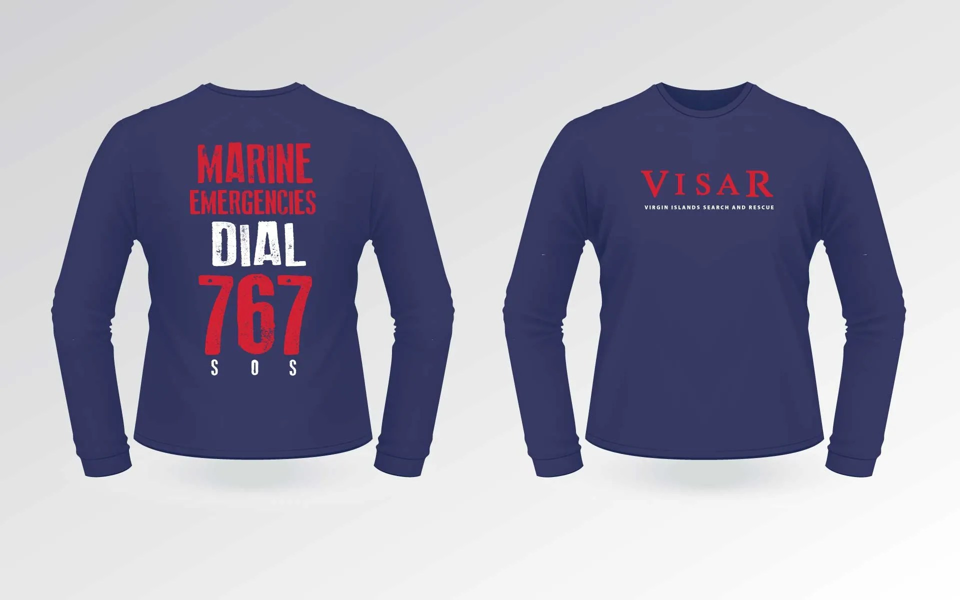 Visar Shirts Blue