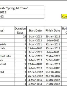 Gantt chart for an artist project also artists art marketing and business by neil rh creativesandbusiness