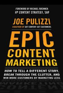 CONTENT MARKETING INSTITUTE BOOK COVER
