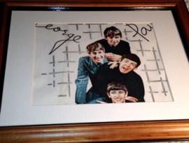BeatlesWallpaper5-Framed