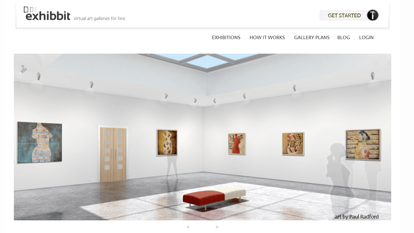 Create your own art exhibition in a virtual 3d gallery 3d virtual design