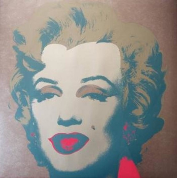 Andy Warhol Marilyn 26 lithograph