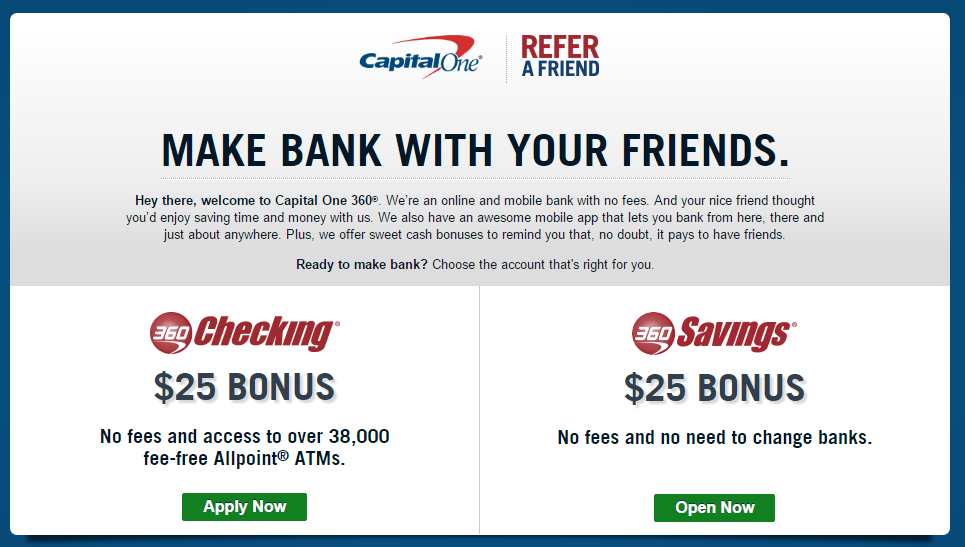 Capital One 360 Checking Statement