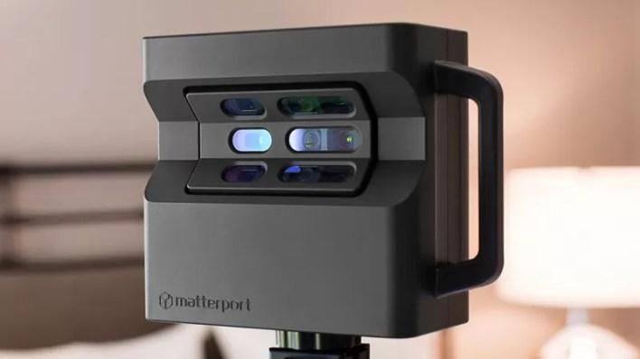 الاعلان عن Matterport MC250 Pro2 كاميرا تصوير واقع افتراضي مخصصة لتصوير العقارات