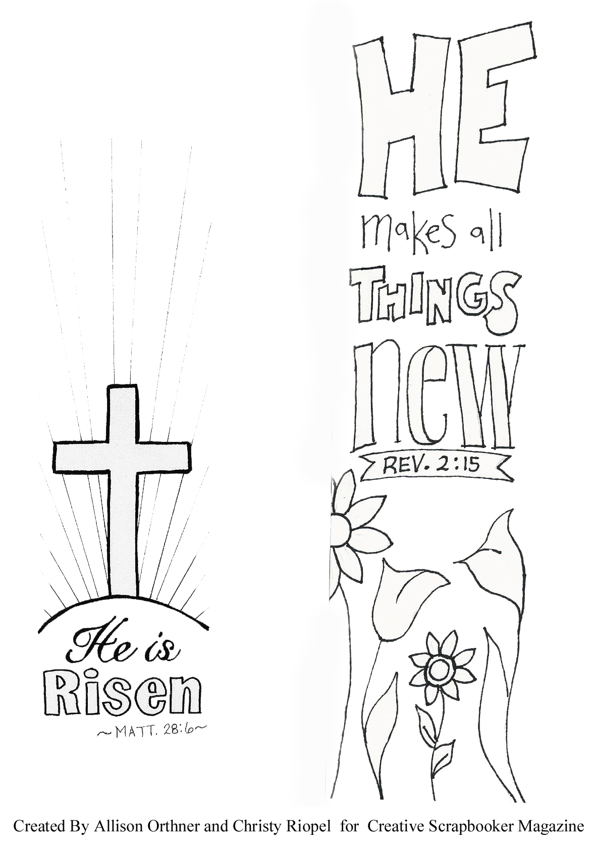 Bible Journal Coloring Pages