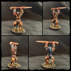 chaos Champion 28mm miniature