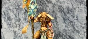 Chaos Minotaur standard Bearer