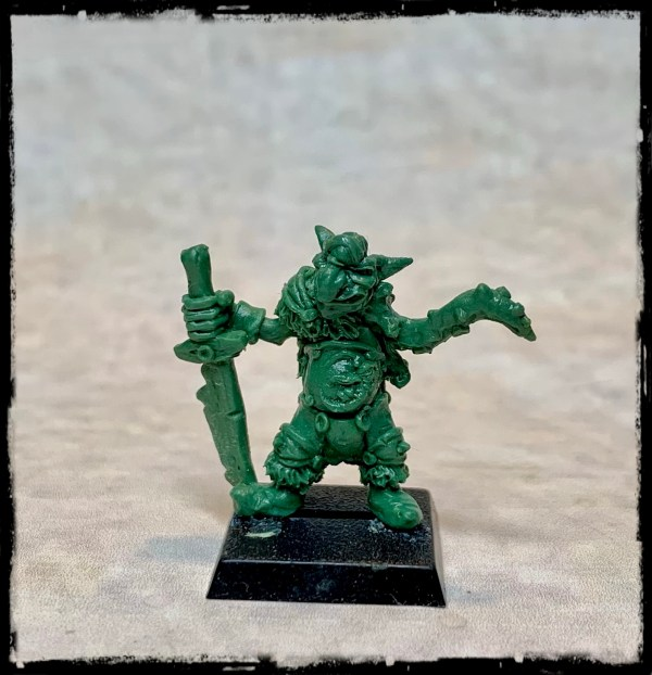 Chaos goblin Champion