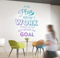 Plan Wall Decal  Wall Decals