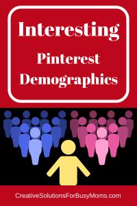 Interesting Pinterest Demographics