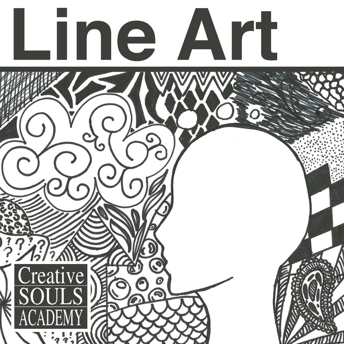 Inspirational Drawing Line Art