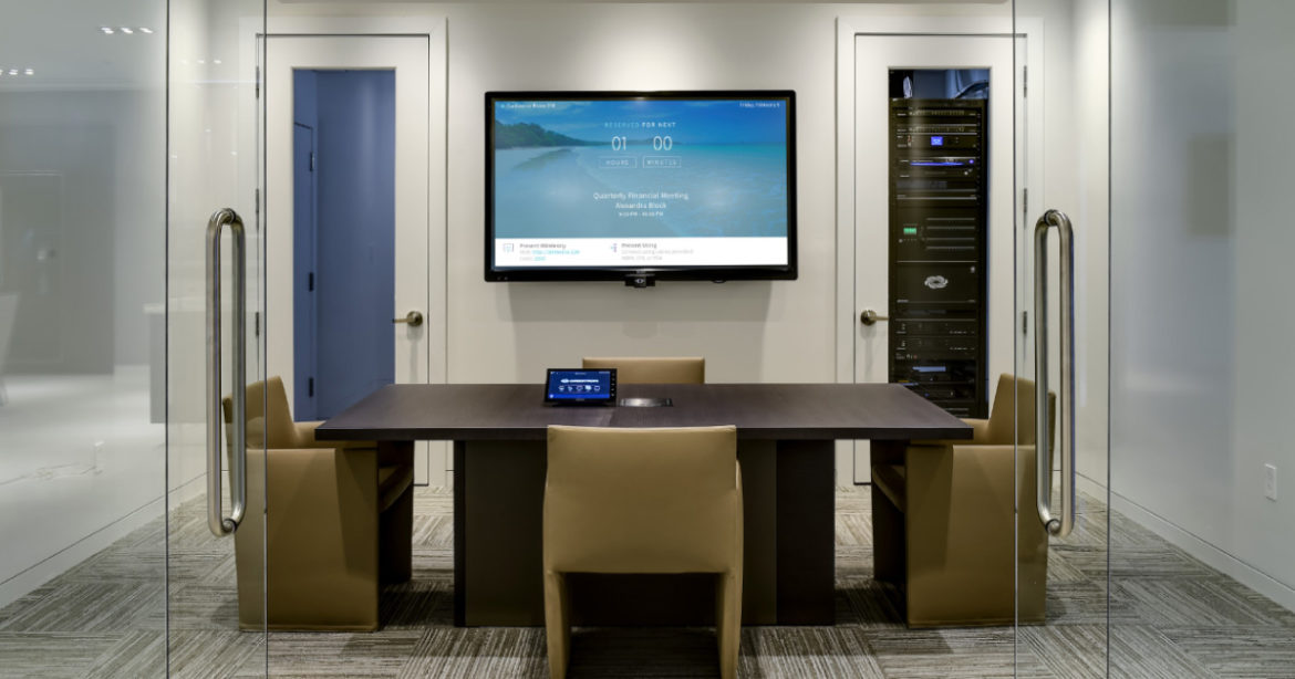 crestron commercial lighting control