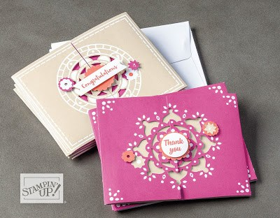 Stampin' Up! Sale-a-Bration Mixed Medallions Card Kit