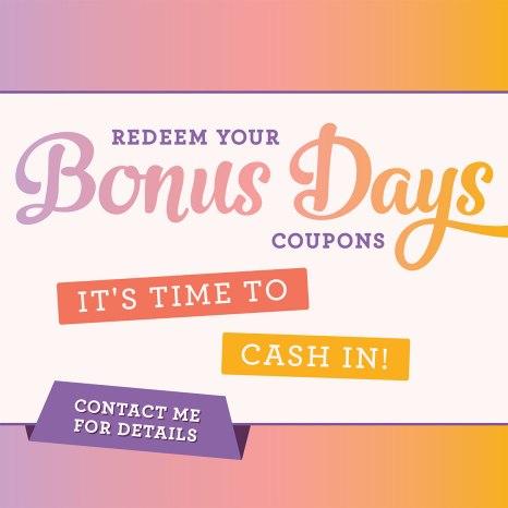 Bonus Day Redemption