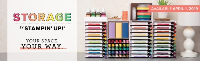 New Storage by Stampin' Up!