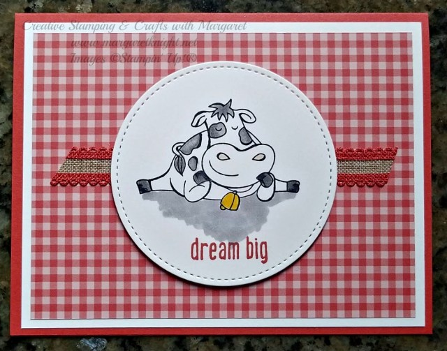 Over the Moon Stamp Set featuring Dream Big and Terracotta Tile In-Color