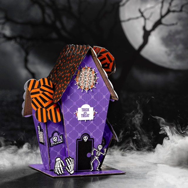 Recycled Paper Pumpkin Box