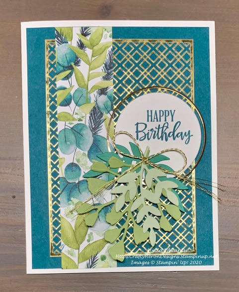 Forever Fern Birthday Card