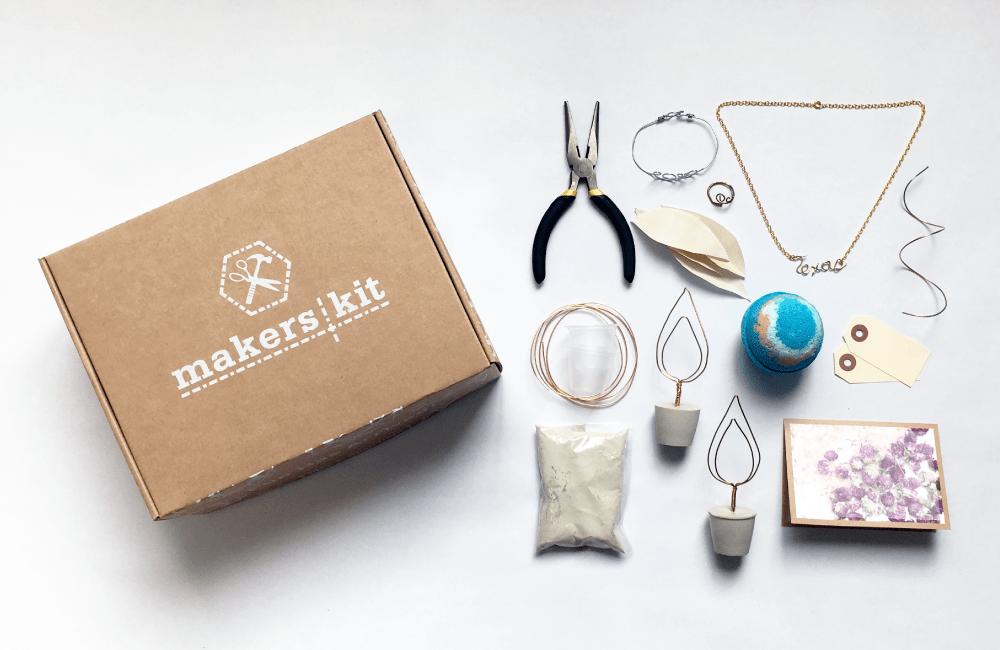 makers kit craft box creativestay diy kit subscriptions