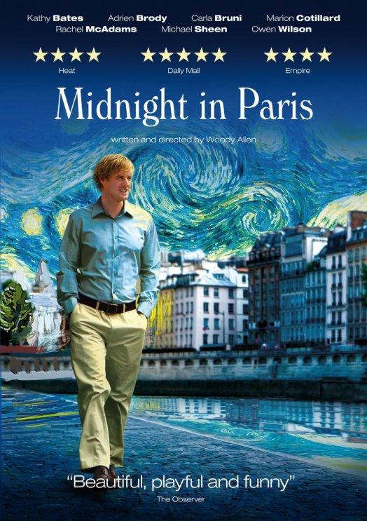 top 5 creatively inspiring movies midnight in paris woody allen