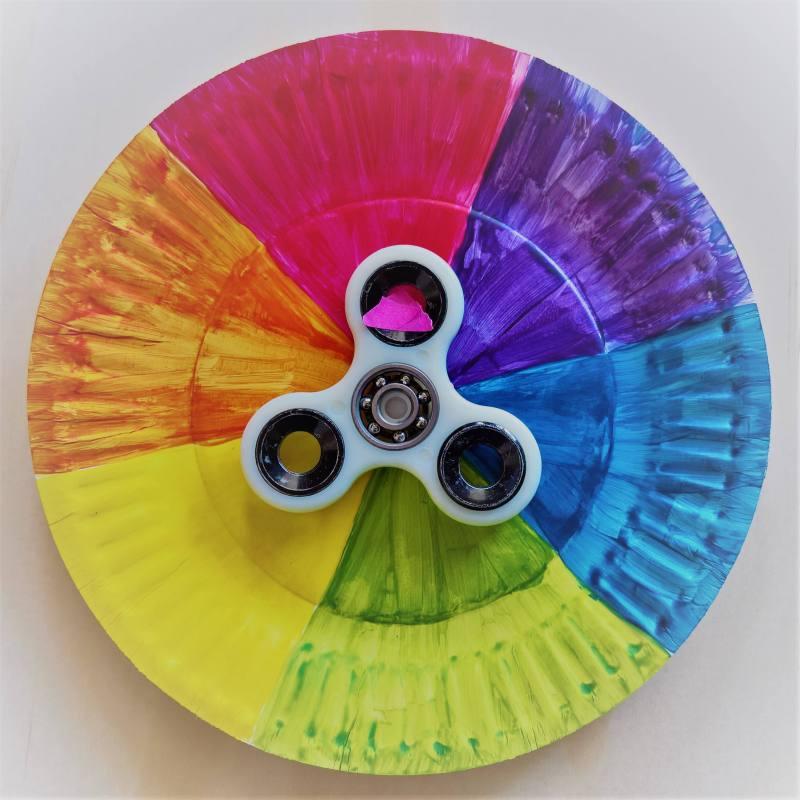 Colour Wheel Fidget Spinner