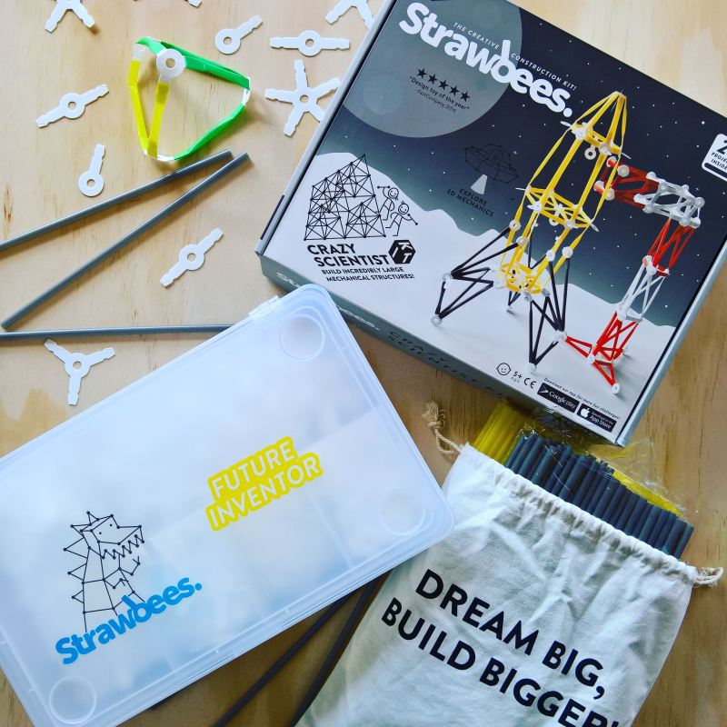 Strawbees Crazy Scientist Kit - STEAM Educational Tools Review