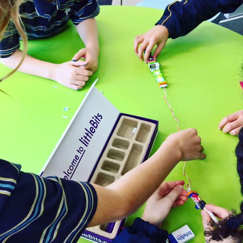 littleBits at STEAM Club
