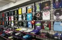 Metal T-Shirt Display Box | Wall Mounted T-Shirt Display ...