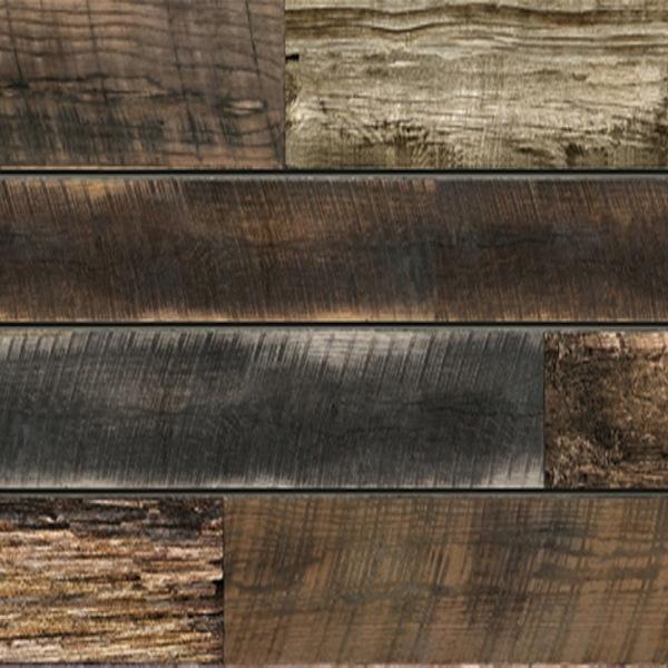 Reclaimed Natural Wood Slatwall Panel Reclaimed Wood Planks Textured Slot Wall Natural Wood