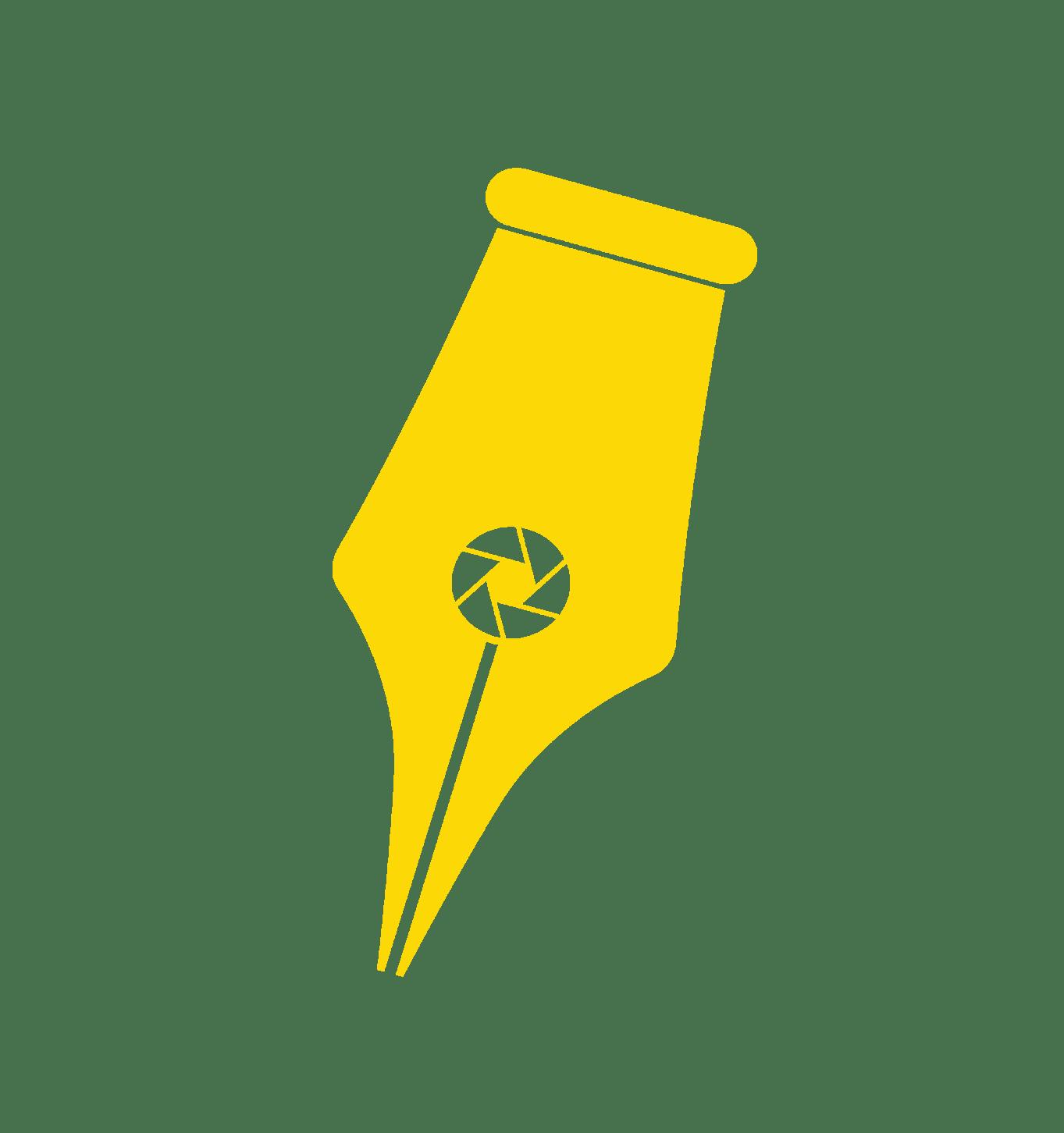 Creative Studio Logo Yellow Nib