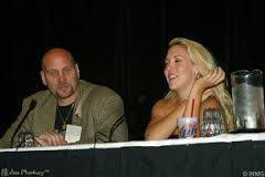 Ken Feinberg & Mercedes McNab talking to Buffy Fans