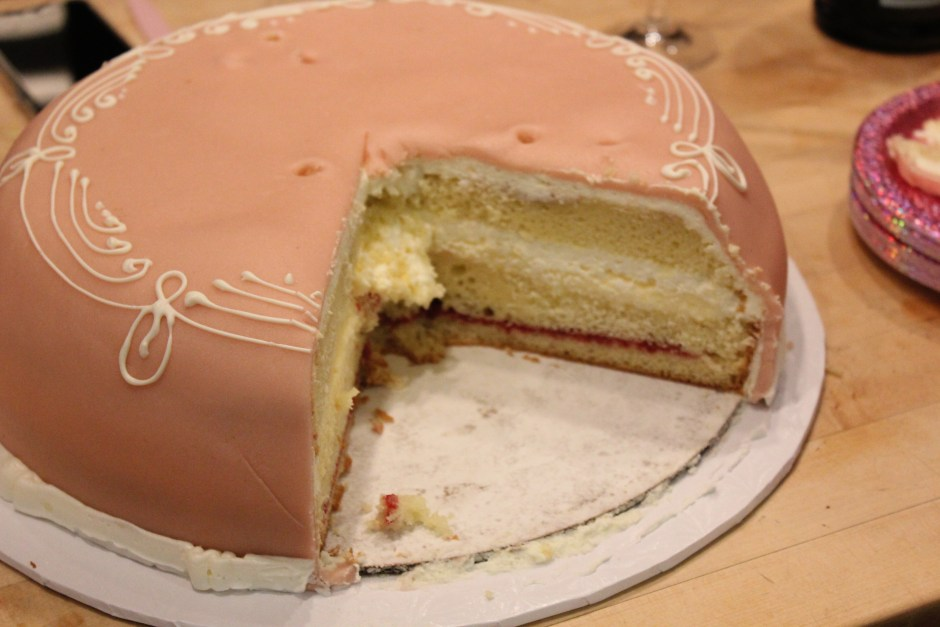 Princess Cake... This cake is the best!