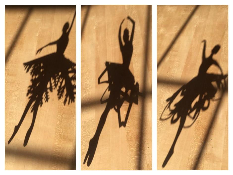 Snowflake shadow dancers