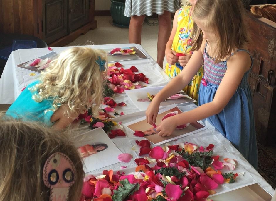 Creating Petal Dresses