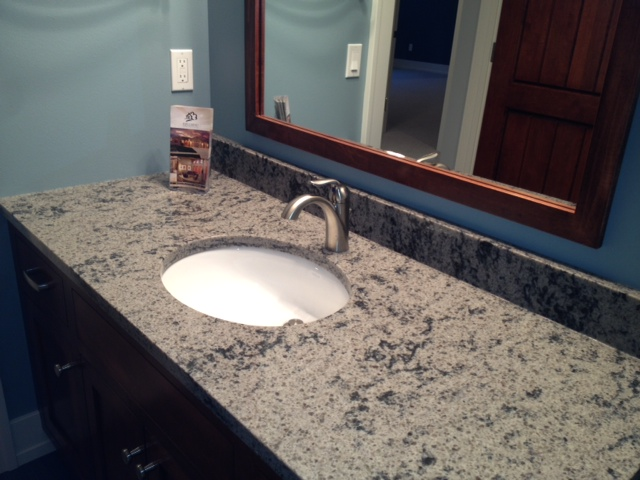 Beautiful Quartz Countertops in Hjellming Home  Creative