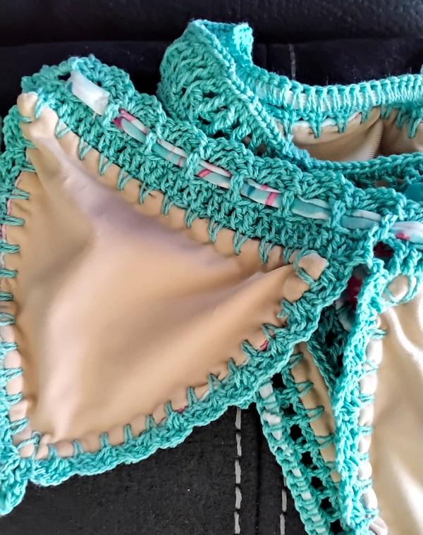 crochet bikini kids