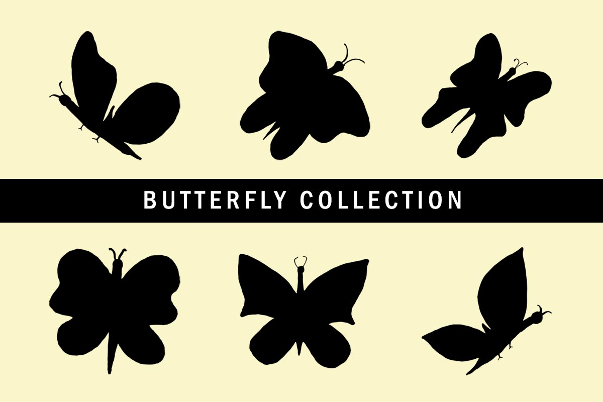 hight resolution of 6 free butterfly clipart