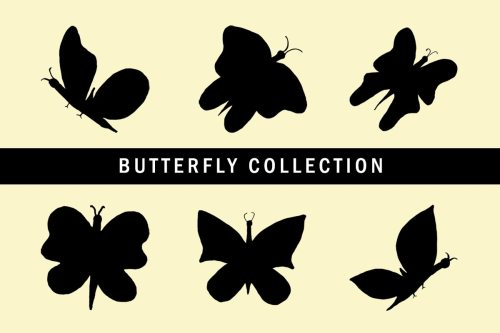 small resolution of 6 free butterfly clipart