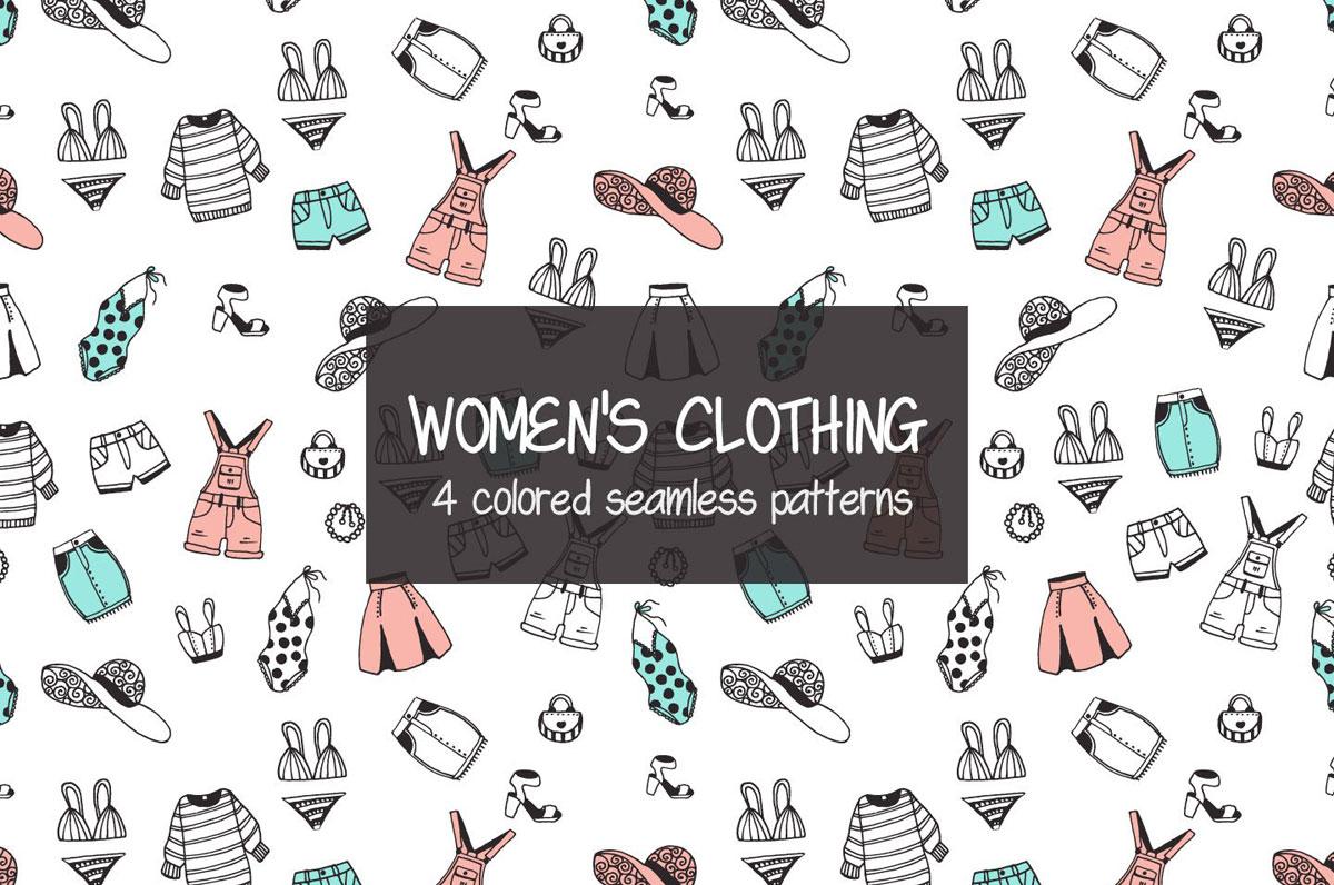free women clothing illustration