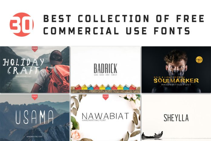 Download 30 Free Best Commercial Use Fonts For 2020 ~ Creativetacos