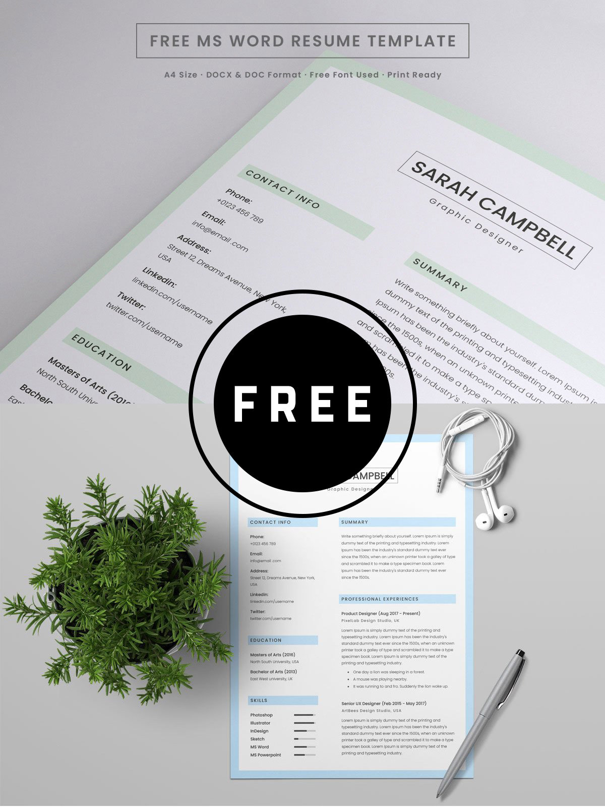 Free Resume Word Template 98 Awesome Free Resume Templates For 2019 Creativetacos
