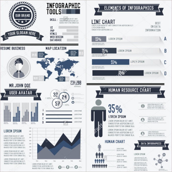 18+ Word Infographic Resume Templates Free Pdf, Ppt Formats