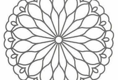 Mandala-Coloring Page
